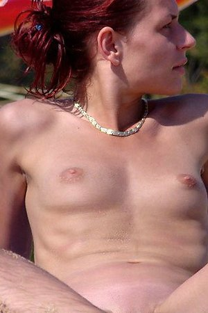 Nude beach hot nudist girl caught while she dressing up