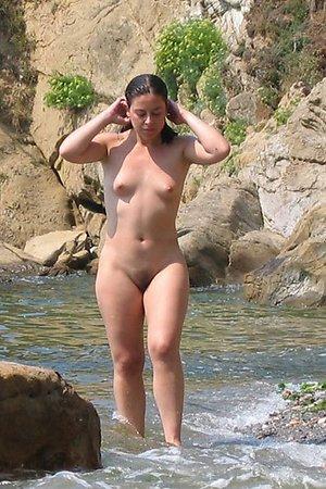 Nude beach hidden photos