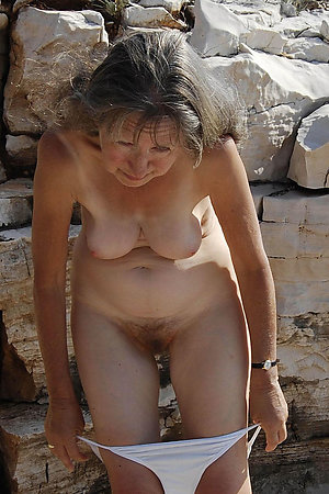 Mature women undressing for naturist time