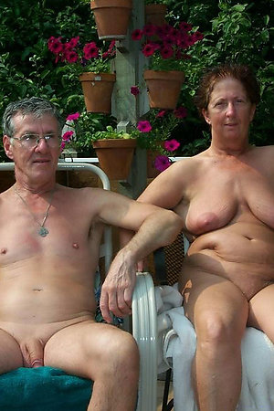 Naturist grannies with their nude hubbies