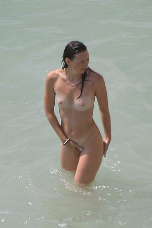 A busty girl at the Negril
