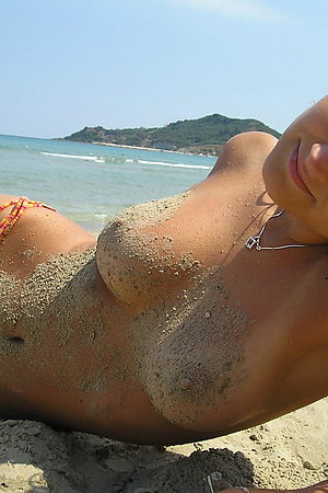 Naked On The Beach! Gallery #101