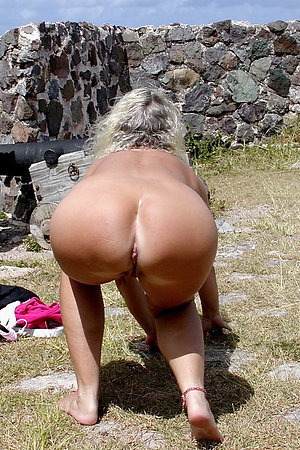 See assholes of fat mature nudists