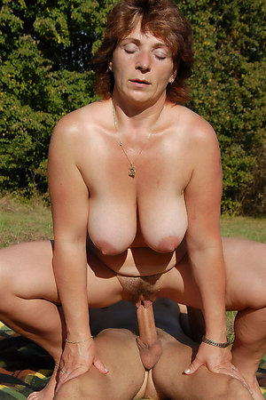 Naturist mature moms with young boys