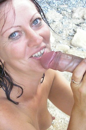Dissolute nymphomaniac has wild passion brazenly at beach