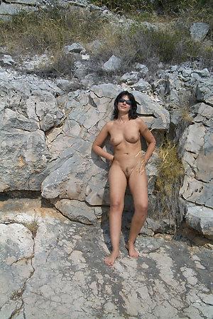 Naked people walking around