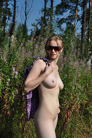 Amateur nudist families exposed