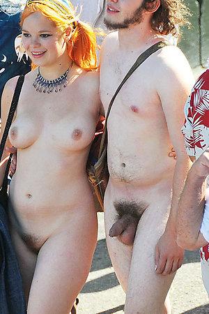 Amateur milf sucking cock in public